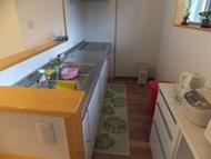 広々キッチン、全体図